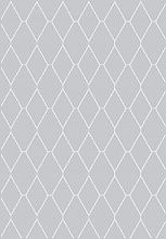 Ковер Ambiance 81228 Silver-White